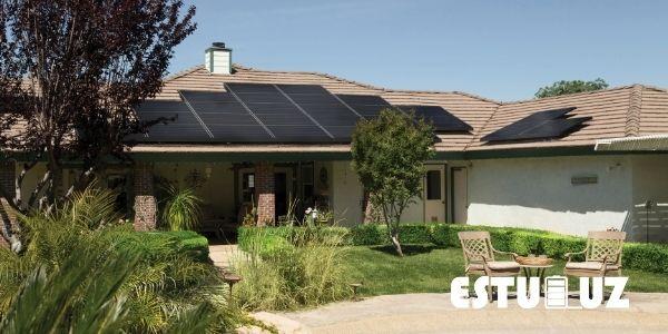 Imagen de energia renovable; paneles solares